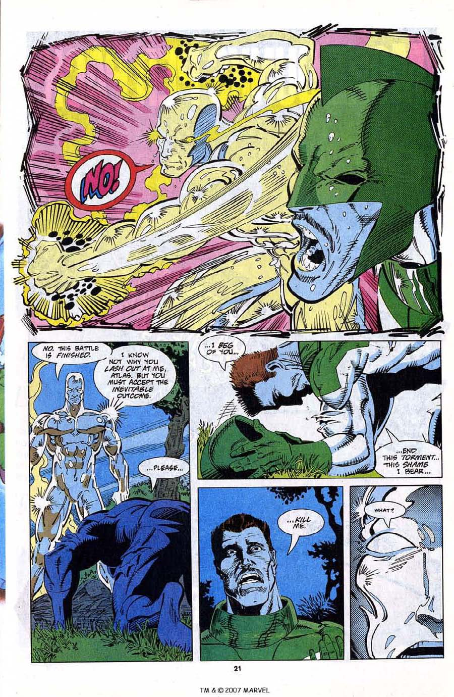 Read online Silver Surfer (1987) comic -  Issue #79 - 23