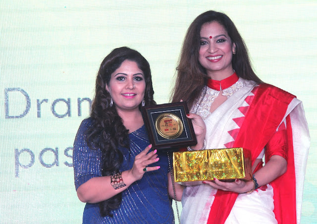 Fashion Designer Preeti Ghai has been honoured with the Grehlakshmi Goodwill Ambassador Award 2016