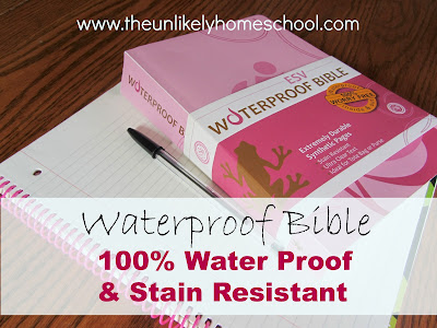 Waterproof Bible-The Unlikely Homeschool