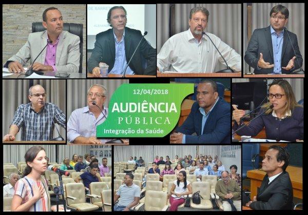 Integração do sistema de saúde é tema de debate na Câmara Municipal de Barretos