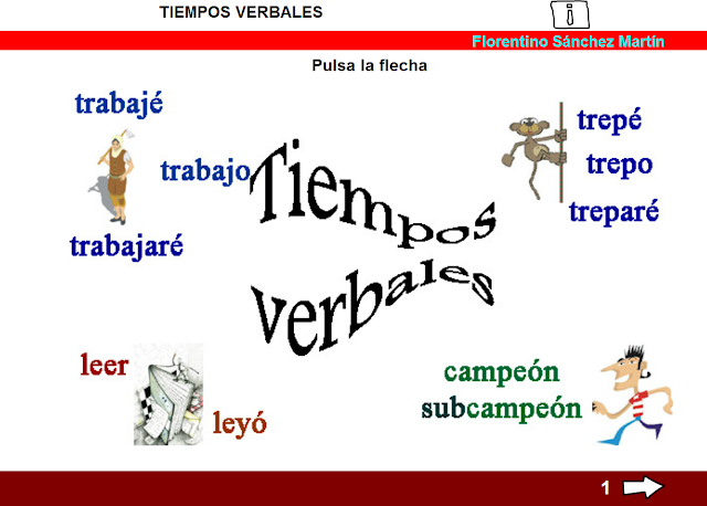 Resultado de imagen de Los verbos florentino