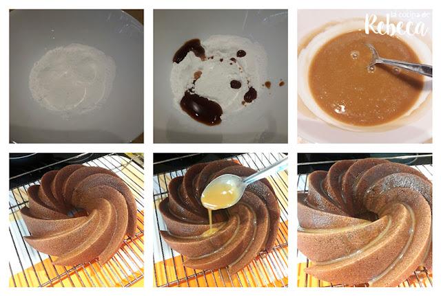 Receta de bundt cake de café glaseado 04