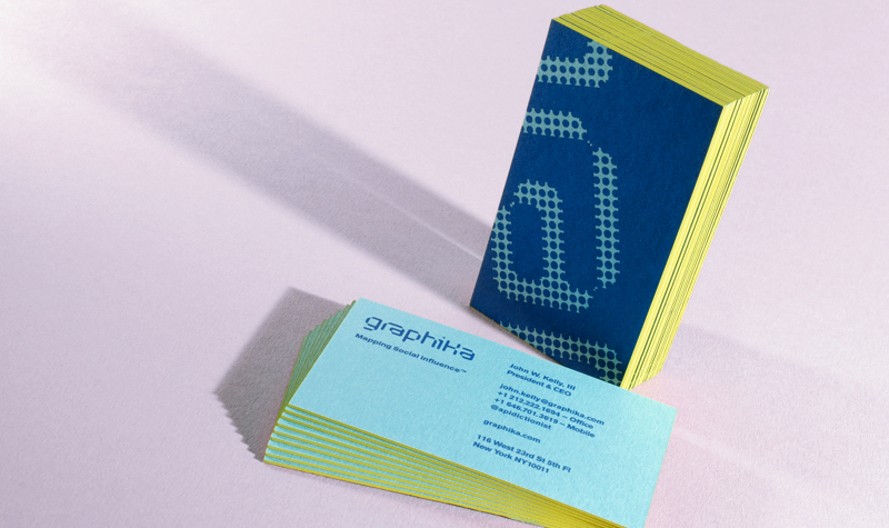 Publicide inc nyc printing letterpress and design spotlight on edge gild full color business cards custom printing nyc silky touch edge paint summer trends summer reheart Images
