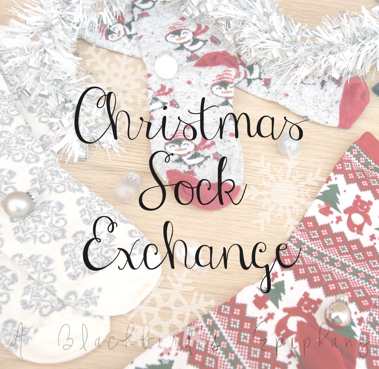 Christmas Sock Exchange 2015   A Blackbird's Epiphany - UK ...