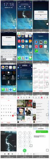 iPhone 5S Clone Screenshots