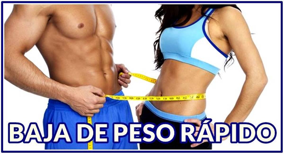 Aprende a bajar de peso fácil y rápido sin arriesgar tu salud