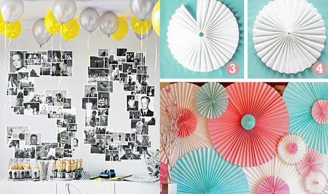 Incríveis decorações de festa fáceis e baratas
