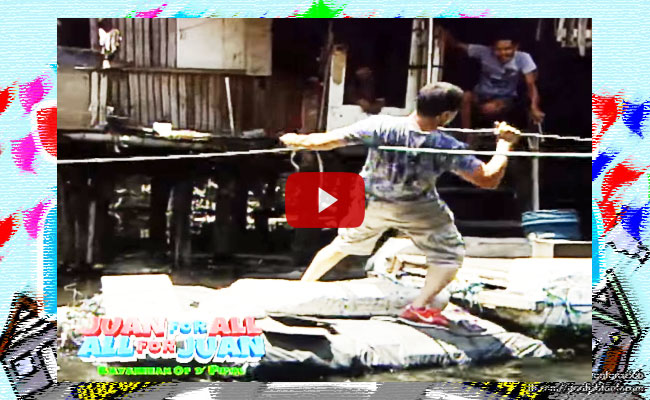 Watch Jose Manalo Fall on River During Sugod-Bahay Segment