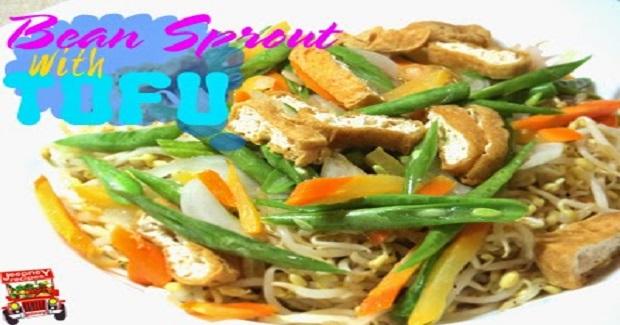 Ginisang Togue With Tofu Recipe