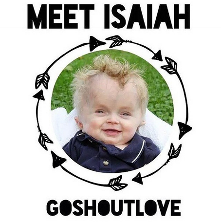 #ShoutLoveforIsaiah