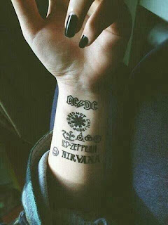 foto 4 de tattoos inspirados en grandes bandas