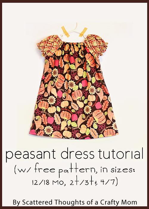 Pdf Pattern Tutorial Hand Embroidery Stitch My Garden 002: Peasant Dresses, Peasant Dress