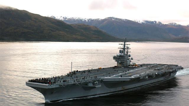 """""""Hackers"""" chinos atacan un portaviones de EE.UU. en el mar de la China Meridional"""