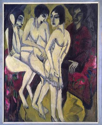 Kirchner - le jugement de Paris,1913