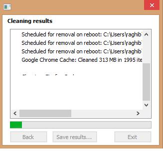 Télécharger Disk Cleaner Pour supprimer les fichiers inutiles de votre ordinateur clean2