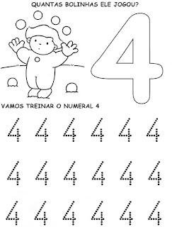 4 - Atividades com Números Educação Infantil