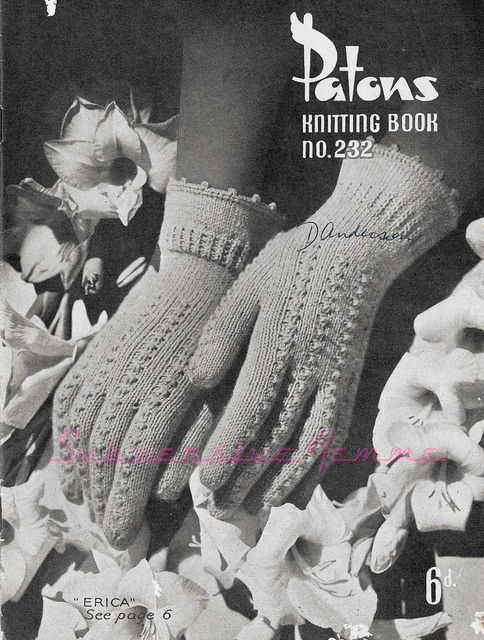 The Vintage Pattern Files - Free 1930's Knitting Pattern - Patons Knitting Book No. 232
