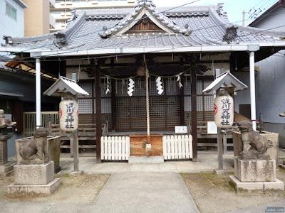 淀川天神社拝殿