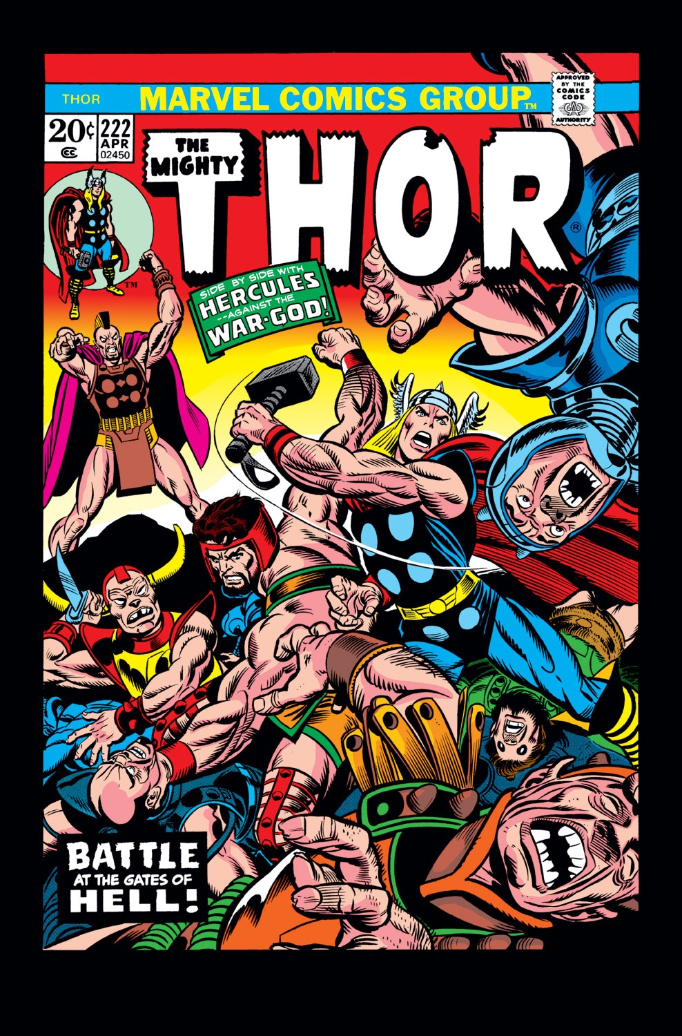Thor (1966) 222 Page 1