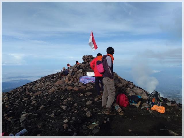 pengalaman ke puncak gunung slamet
