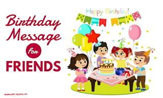 Birthday Message For Friend