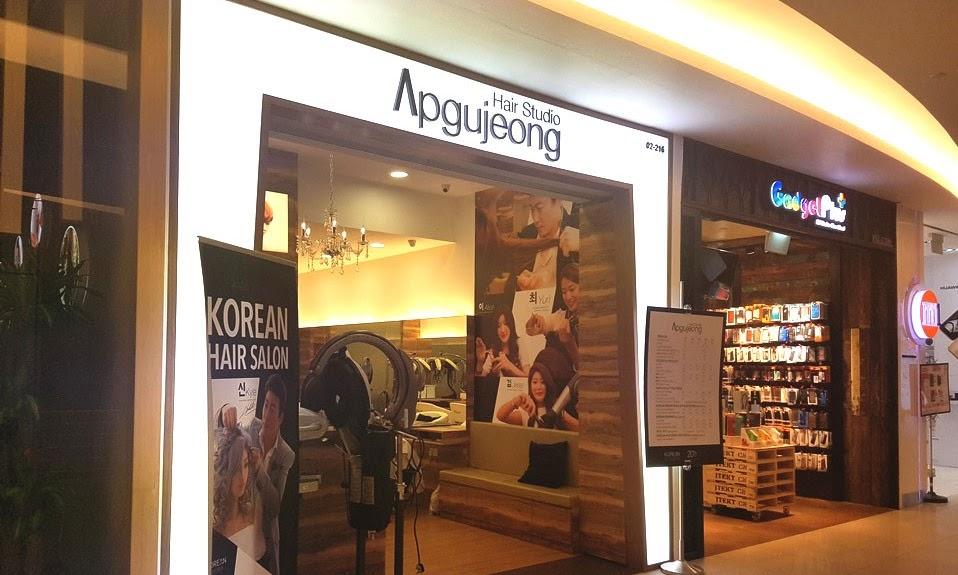 Review: My Visit to Apgujeong Hair Studio Vivocity