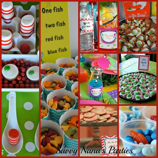 Dr. Seuss Birthday Party Ideas - Free Printables Savvy Nana