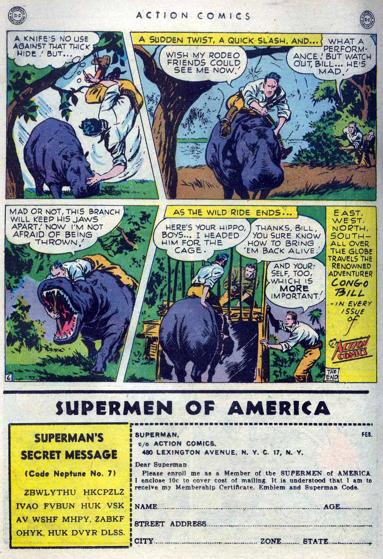 Read online Action Comics (1938) comic -  Issue #105 - 32