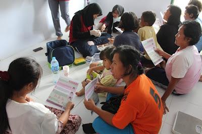 Penyuluhan SADARI pada wanita dewasa di Desa Enggano
