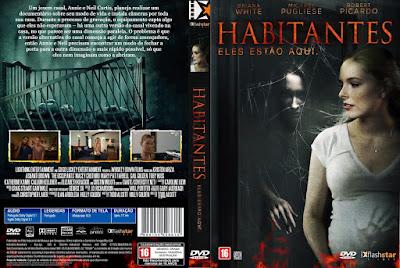 Filme Habitantes - Eles Estão Aqui (Occupants) DVD Capa