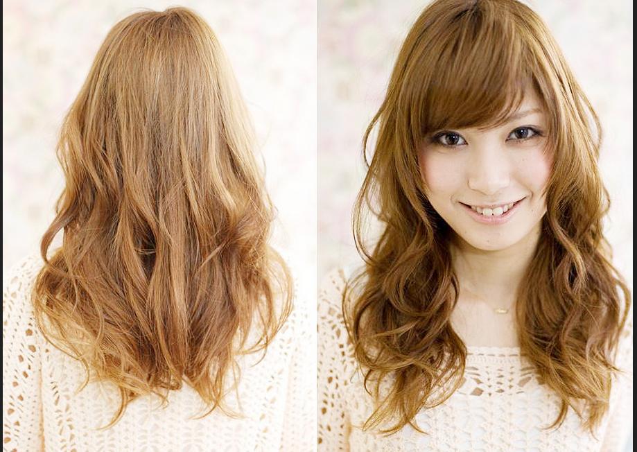 Model Rambut Panjang Untuk Wajah Bulat dan Rambut Tipis