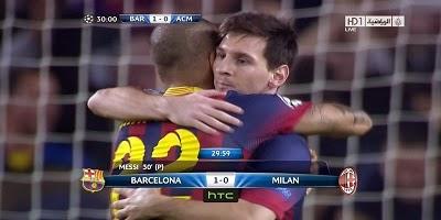 UEFA Group H : Barcelona 3 vs 1 Milan 06-11-2013