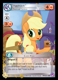 My Little Pony Applejack, Festival Caterer Seaquestria and Beyond CCG Card