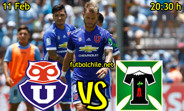Ver stream hd youtube facebook movil android ios iphone table ipad windows mac linux resultado en vivo, online: Universidad de Chile vs Deportes Temuco