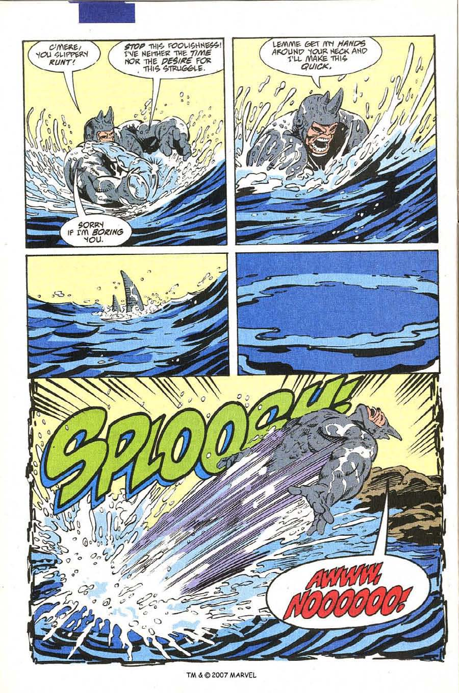 Read online Silver Surfer (1987) comic -  Issue #54 - 22