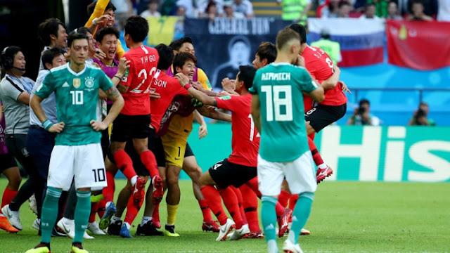 lima Alasan Jerman Tertendang di Piala Dunia 2018