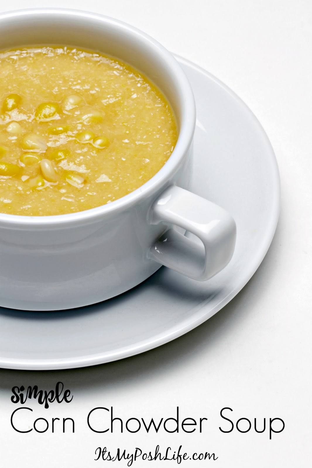 Simple Corn Chowder Soup