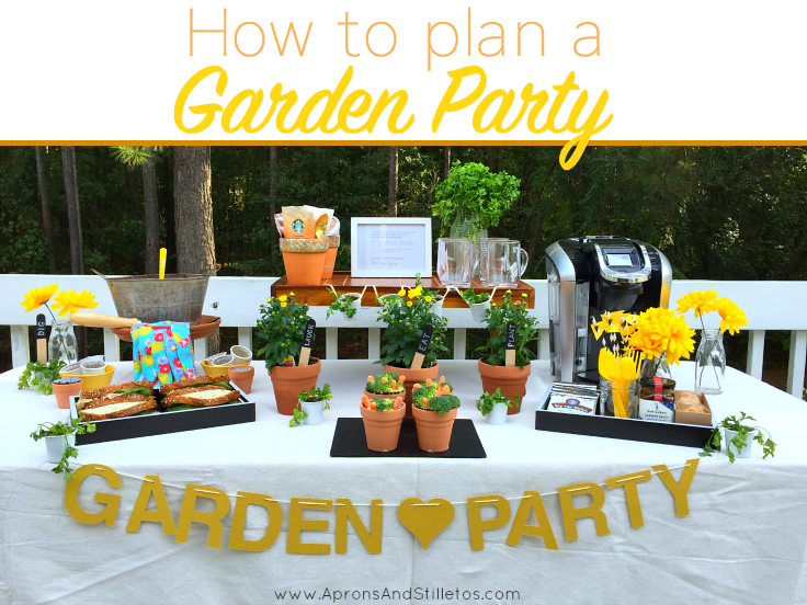 Garden Themed Party | How to plan and decorate