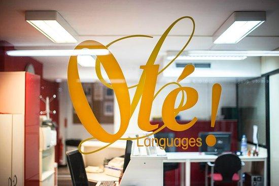 Escola Olé Languages em Barcelona