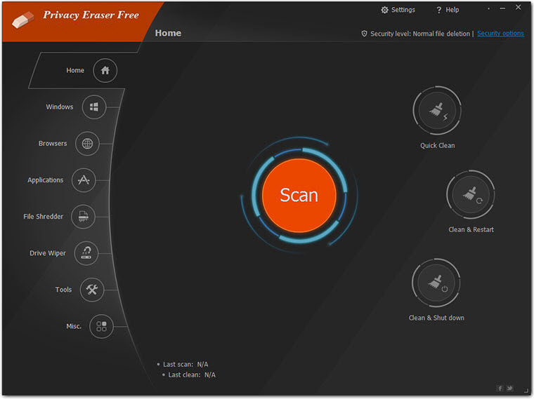 Privacy Eraser Free 4.50.5 Build 2978