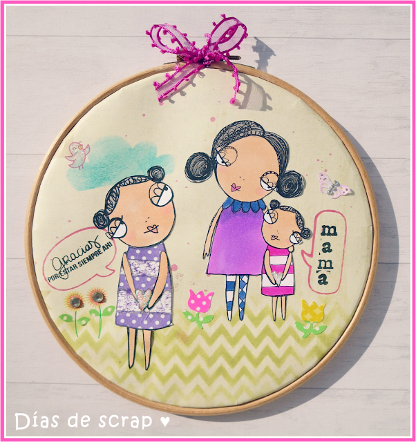 Bastidor Día de la madre