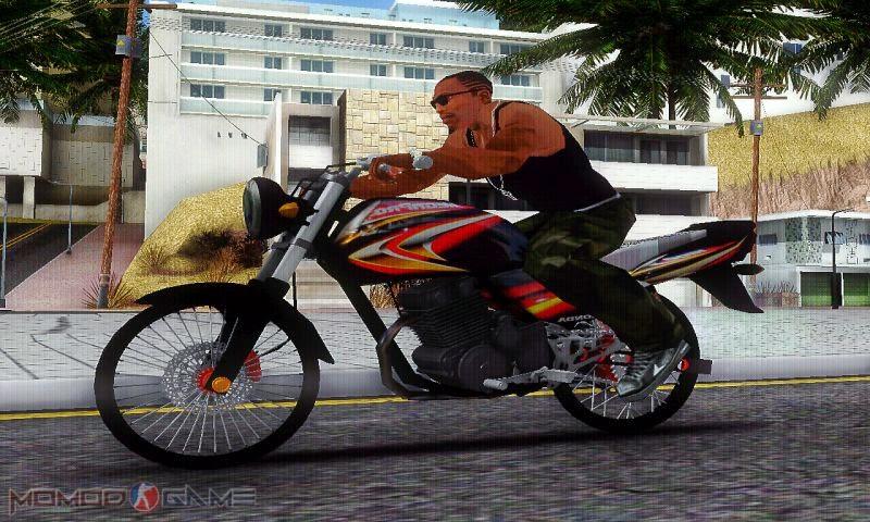 Mod Honda Mega Pro GTA SA