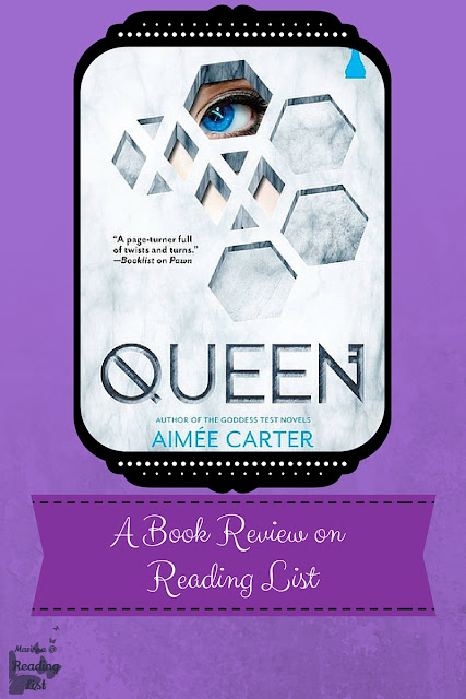Queen by Aimee Carter a Book Review on Reading List