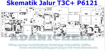 Skematik Jalur T3C+ P6121