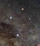 Rasi bintang crux / pari / salib layang - layang arah selatan
