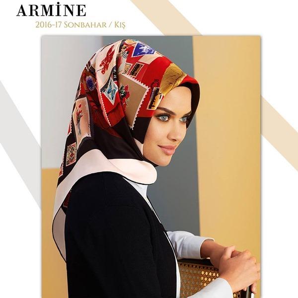 Armine 2016-2017 Sonbahar Kış Eşarp Modelleri