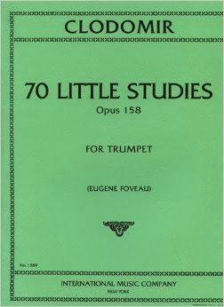 70 Little Studies Opus 158 for Trumpet - Clodomir International