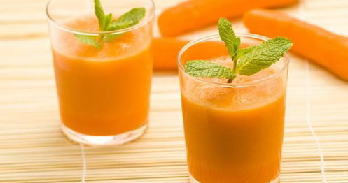 Sinh tố dứa cà rốt