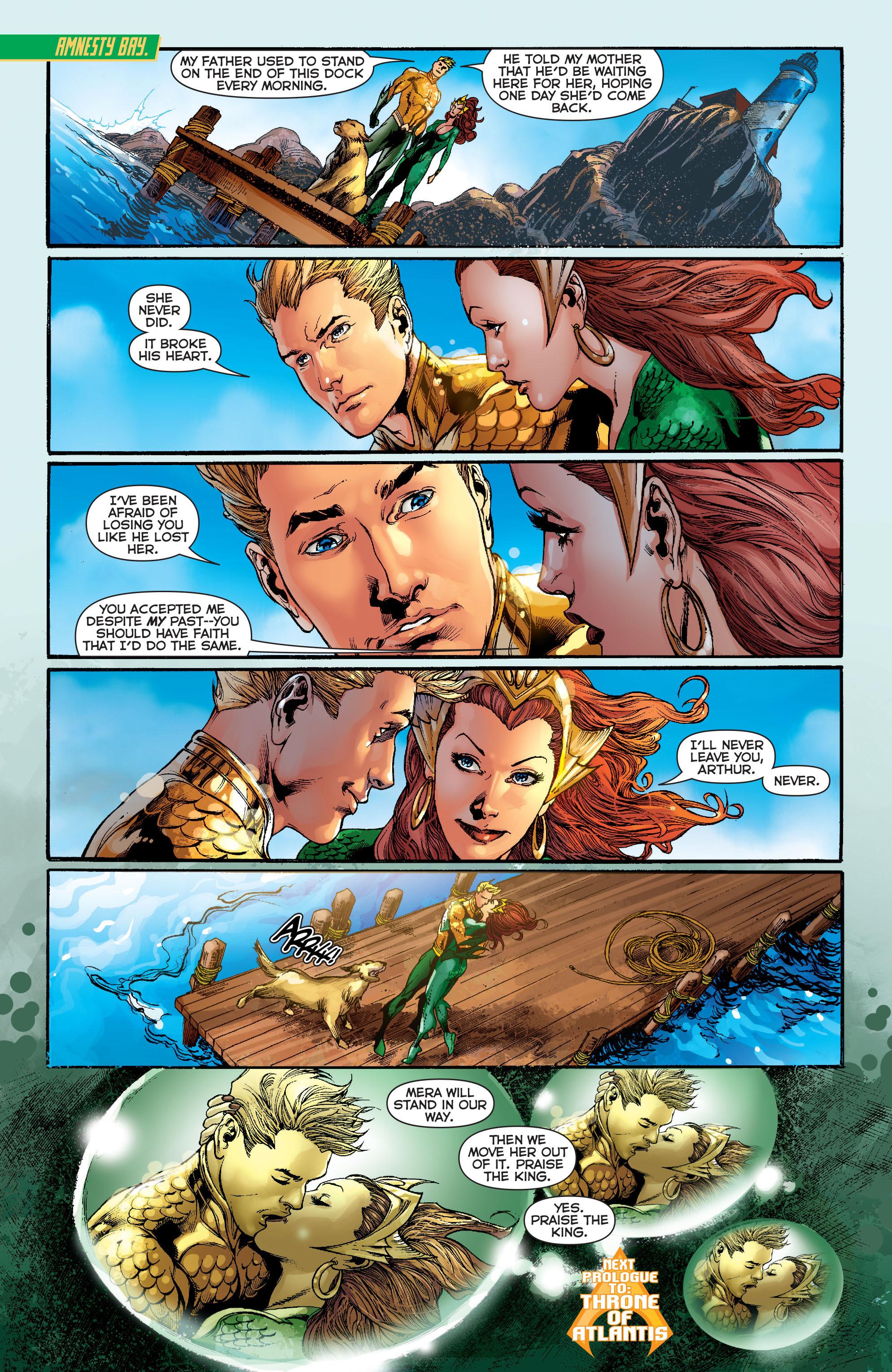Read online Aquaman (2011) comic -  Issue #13 - 21