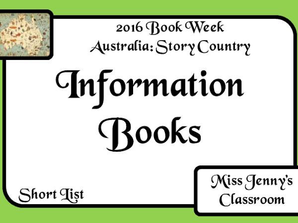 Book Week 2016: Short List: Information Books